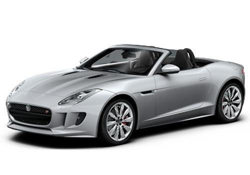 Jaguar F-Type Rhodium Silver Color