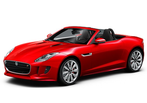Jaguar F-Type Salsa Red Color