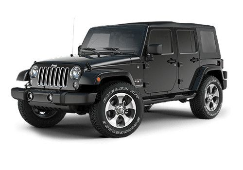 Jeep Wrangler Unlimited Black Color