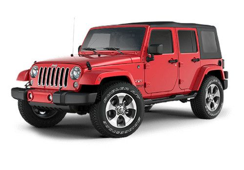 Jeep Wrangler Unlimited fire cracker red Color