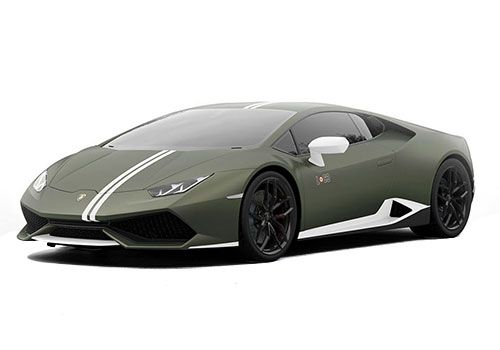 Lamborghini Huracan Verde Turbine Green Color