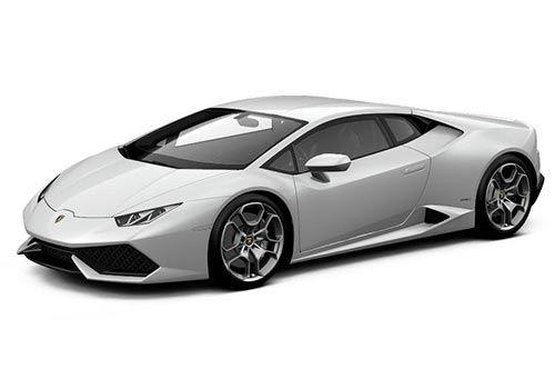 Lamborghini Huracan Bianco Icarus Metallic Color