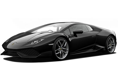 Lamborghini Huracan Nero Serapis Color