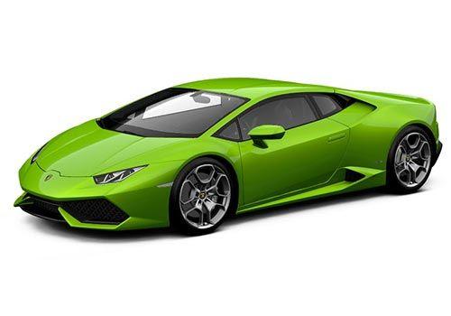 Lamborghini Huracan Verde Mantis Color