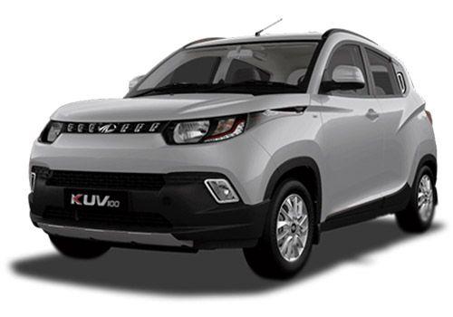 Mahindra KUV100 Pearl White Color