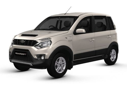 Mahindra NuvoSport Diamond White Color