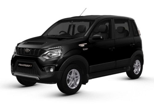 Mahindra NuvoSport Fiery Black Color