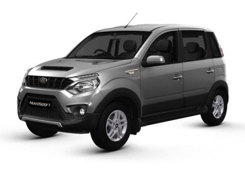 Mahindra NuvoSport Mist Silver Color