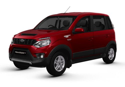Mahindra NuvoSport Molten Red Color