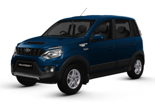 Mahindra NuvoSport Regal Blue Color