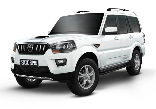 Mahindra Scorpio Diamond White Color