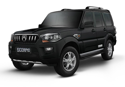 Mahindra Scorpio Fiery Black Color