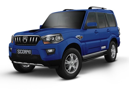 Mahindra ScorpioRegal Blue Color