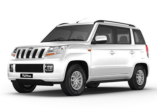Mahindra TUV 300 Glacier White Color