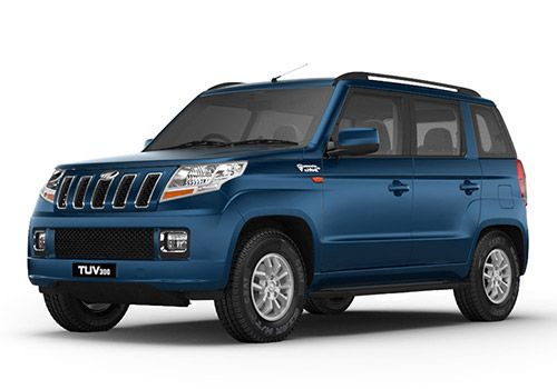 Mahindra TUV 300 Verve Blue Color