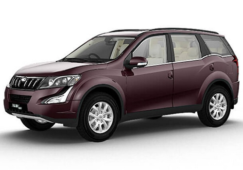Mahindra XUV500 Opulent Purple Color