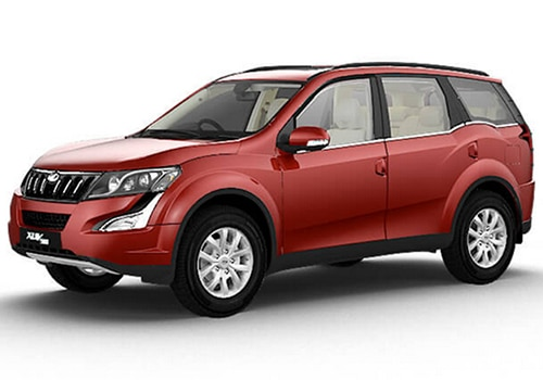 Mahindra XUV500 Tuscan Red Color
