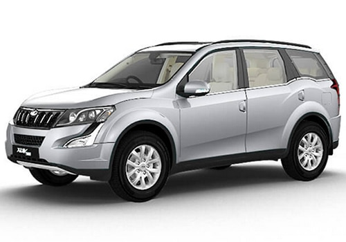 Mahindra XUV500 Moondust Silver Color