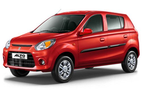 Maruti Alto 800 Blazing Red Color