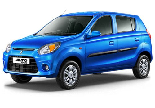 Maruti Alto 800 Cerulean Blue Color