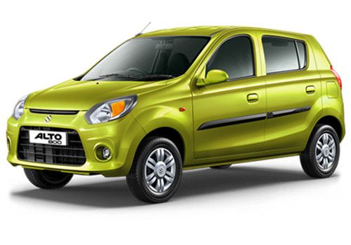 Maruti Alto 800 Mojito Green Color