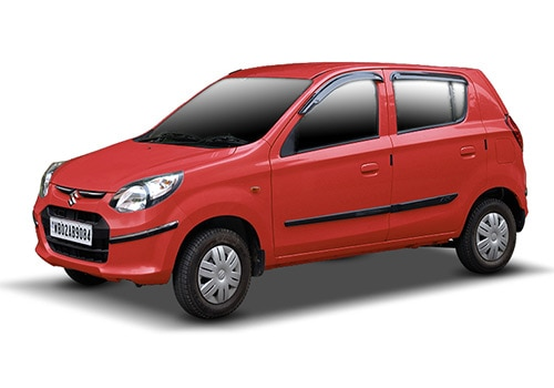 Maruti Alto 800 New Blazing Red Color