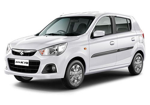 Maruti Alto K10Superior white Color