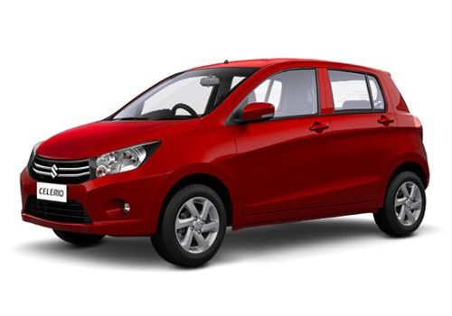 Maruti CelerioBlazing Red Color
