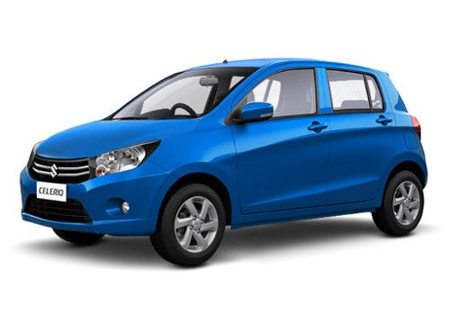 Maruti Celerio Cerulean Blue Color
