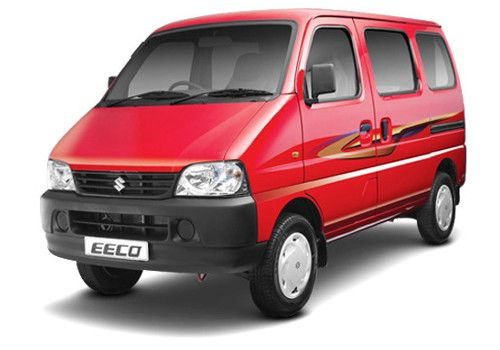 Maruti Eeco Red Color