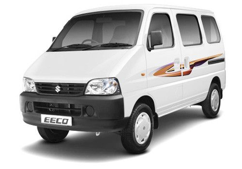 Maruti Eeco White Color