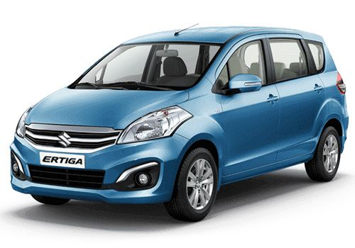 Maruti ErtigaPearl Blue Blaze Color