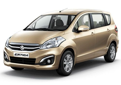 Maruti Ertiga Radient Beige Color