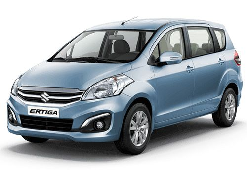 Maruti Ertiga Serene Blue Color