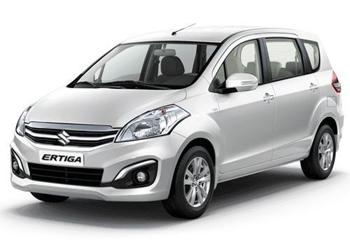 Maruti Ertiga Superior white Color