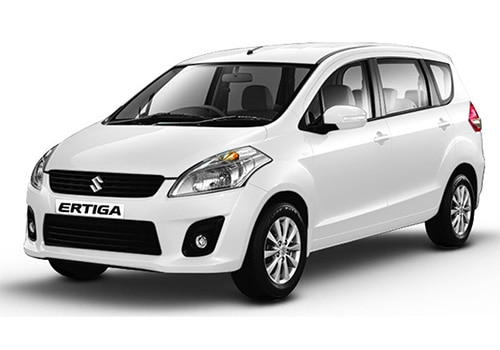 Maruti Ertiga 2012-2015 Superior white Color