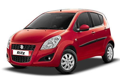 Maruti Ritz New Mystique Red Color