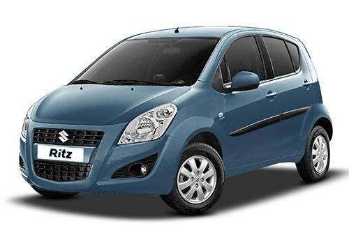 Maruti Ritz New Breeze Blue Color