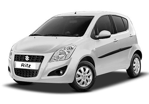 Maruti Ritz Superior white Color