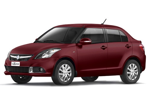 Maruti Swift Dzire Sangria red Color