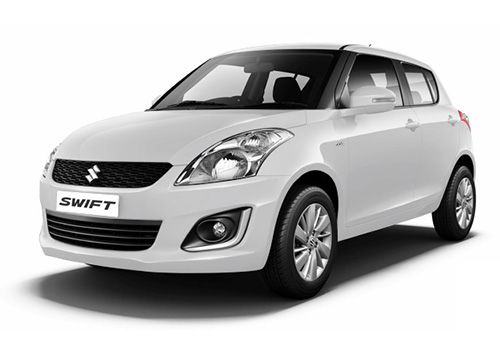 Maruti Swift Pearl Arctic White Color