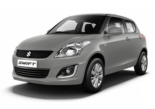 Maruti SwiftSilky silver Color