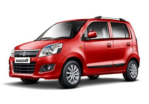 Maruti Wagon RPassion Red Color