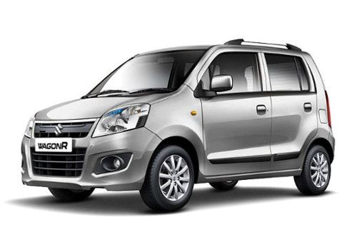 Maruti Wagon R Silky silver Color