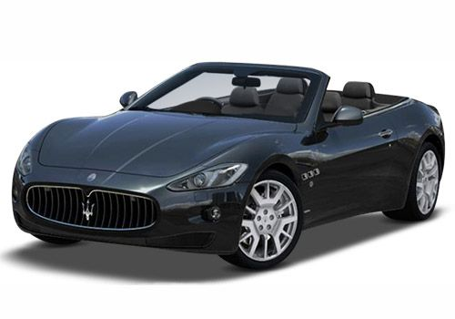 Maserati Gran Cabrio Nero Carbonio Metallic Color