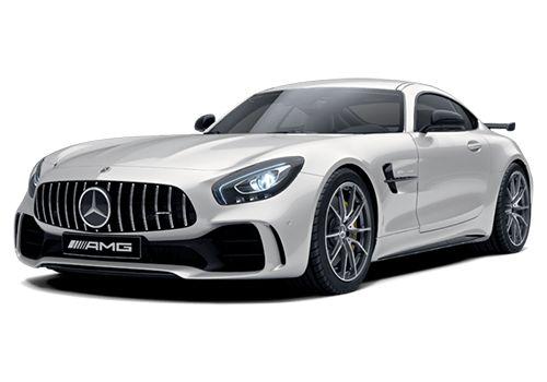 Mercedes-Benz AMG GT Designo Diamond White Bright Color