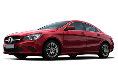 Mercedes-Benz CLA Jupiter Red Color