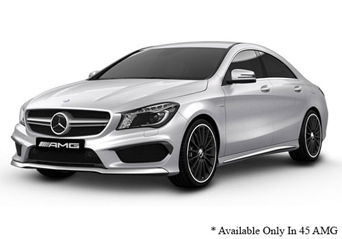 Mercedes-Benz CLA Designo Magno Polar Sliver Color
