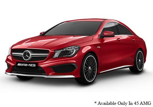 Mercedes-Benz CLA Jupiter Red - AMG Color
