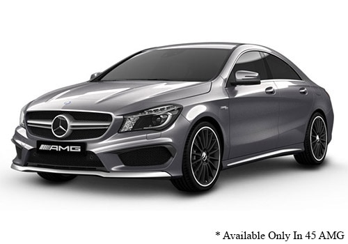 Mercedes-Benz CLA Mountain Grey - AMG Color